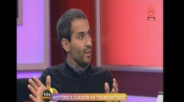 Canal 24 Horas organiza panel acerca de la evasión en el Transantiago