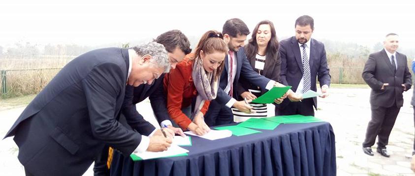 CEDEUS oficia firma del protocolo de protección de humedales en el Gran Concepción
