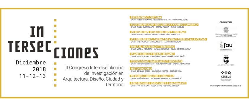 III Congreso interdisciplinario de investigación en arquitectura, diseño, ciudad y territorio