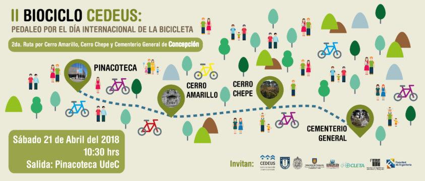 CONCEPCIÓN pedalea y aprende para celebrar el Día Internacional de la Bicicleta