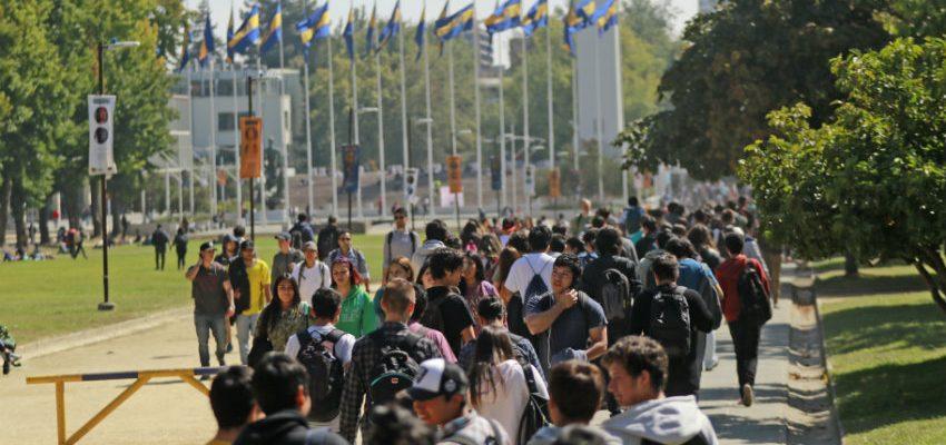imagen general de estudiantes en la universidad de concepción