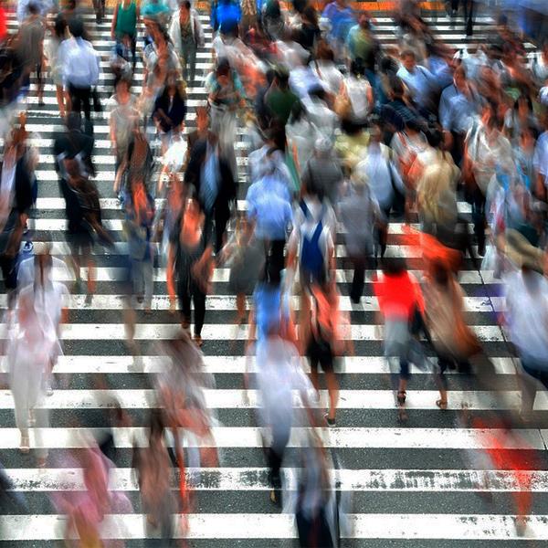 La vida invisible de los peatones