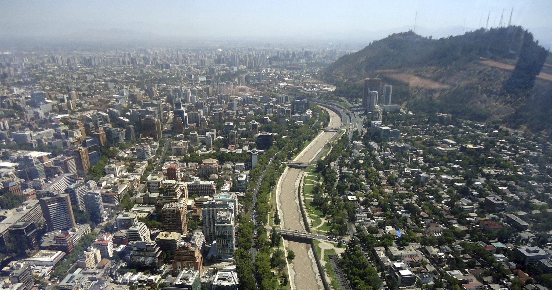 Santiago: la brutal centralización de una ciudad fragmentada y desigual