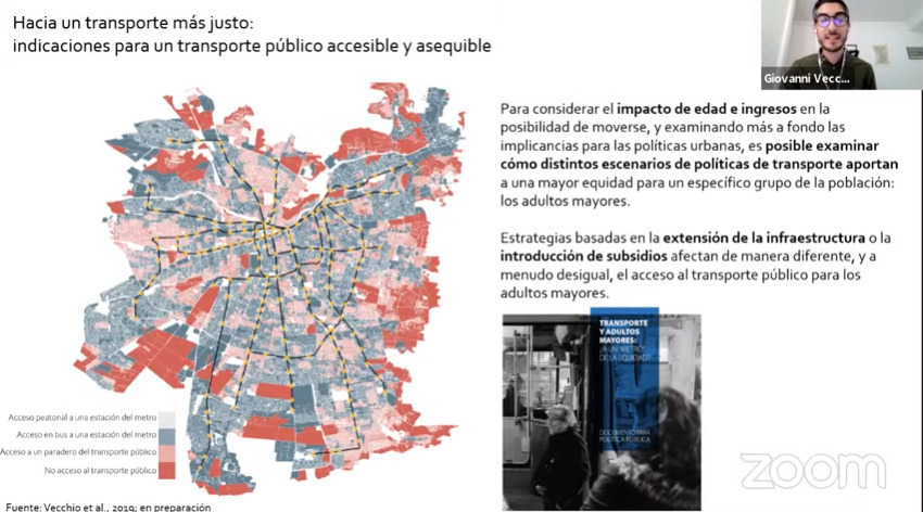 Movilidad y personas mayores en Chile